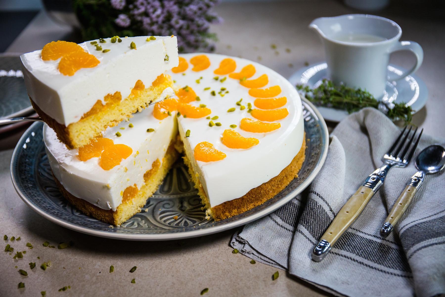 Kase Sahne Torte Landgemachtes